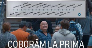 Coboram la prima – primul film inspirational romanesc