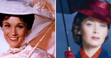Mary Poppins: old vs new – Julie Andrews vs Emily Blunt